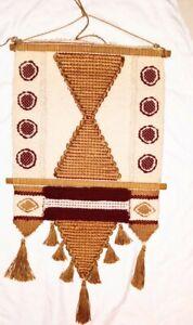 Don Freedman Wall Macramé Tapestry Circa 1970's