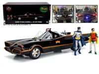 Jada 1:18 Classic TV Series 1966 Batmobile with Lights Batman and Robin 98625