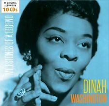Dinah Washington - Milestones of a Legend (2017) 10CD Box Set  NEW  SPEEDYPOST