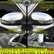 2014 2015 2016 2017 2018 Toyota Corolla TRIPLE Chrome Mirror COVERS w/Signalhole
