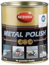 Autosol Tin 0402 Brilliant Chrome Aluminium Metal Polish - 750ml