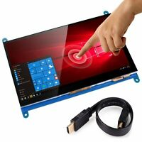 """7"""" Display HDMI 1024*600 LCD with Touch Screen Monitor for Raspberry Pi 2/3"""