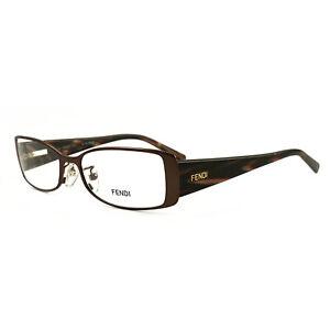 Fendi Women Eyeglasses FF603 210 Burgundy 52 17 140 Full Rim Oval