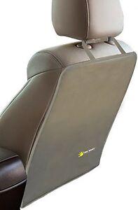 Tike Smart Luxury Clean-Edge Kick Mat-Seat Back Protector Car Seat Cover-Tan