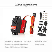 JX PDI-6221MG Metal Gear Digital Servo 20kg for 1:10 1:8 RC Car BUGGY TRUCK K4Y4