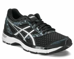 ASICS Women's GEL-Excite 4 Running Shoes. Color: Black/Black/Silver. Choose Size