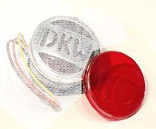 Kunststoffglas Rundglas 56mm, passend für DKW Rücklicht für Motorrräder