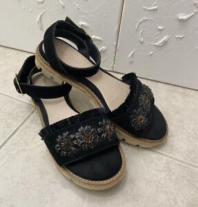 💛ZARA Espadrille Sandals (RRP $89.95) Size 38 (fits AU 8 best)