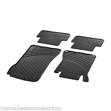 Mercedes Benz Original Rubber Floor Mats W203 C Class & CL203 Coupe CLC NIP