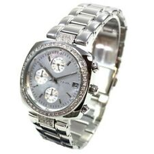 DKNY watch NY4907 Silver Bracelet Chrono with Crystals Women's