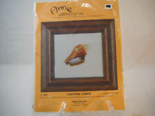 Annie Designs Fighting Conch Cross Stitch Kit New In Package Seashell Pattern