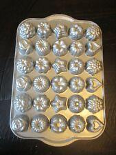 New listing Nordic Ware Silver Mini Bundt Teacake Candies Pan