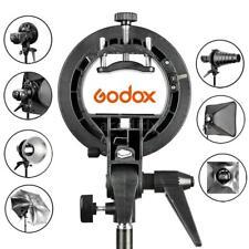 Godox S-Type Flash Speedlite soporte Softbox altanero paraguas de montaje Bowens