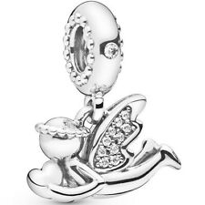 PANDORA Charm Dangle Element 798484 CO1 Angel of Love Silber Bead