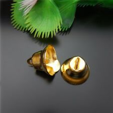 51601 Antique Gold Iron Cute Bell Shape Pendants Charms Findings Crafts 100pcs