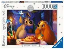 RAVENSBURGER 13972 LADY AND THE TRAMP 1000 PIECES DISNEY COLLECTOR'S JIGSAW