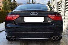 DUPLEX Sportauspuff Audi A5 Coupe 4x 80mm Auspuff Links Rechts Duet
