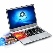KLIM Cool + Laptop cooler Laptop in metal - The most powerful - Air vacum USB -