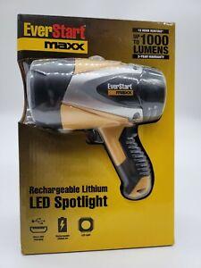 EverStart Maxx Rechargeable Lithium LED Spotlight 1000 Lumens SEALED