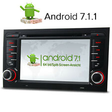 Android 7.1 Car Stereo DAB+GPS SAT NAV OBD-2 Wifi AUDI A4 S4 RS4 B9 B7 SEAT EXEO