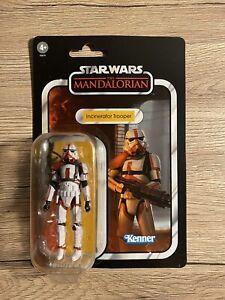 +++ Star Wars Mandalorian Vintage Collection INCINERATOR TROOPER IN HAND *READ*