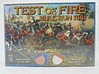 Test Of Fire Bull Run 1861 - American Civil War 1861-65 Board Game Mayfair 2011