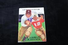 1937??   Springfield vs Baldwin-Wallace Official Football Program