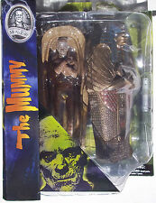 UNIVERSAL STUDIOS MONSTERS THE MUMMY. ACTION FIGURE WITH DETAILED BASE.