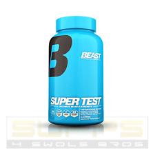 Beast Sports Nutrition SUPER TEST-Testosterone Booster-Build Muscle-PCT 180 caps