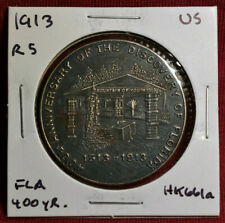 1913 HK-661a, 400 Yr Anniv. Of Florida Discovery SC-Dollar, Great Condition, R5
