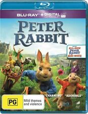 Peter Rabbit Blu-ray + digital copy Brand New PG