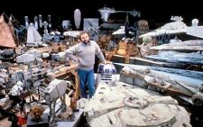 NEW 6 X 4 PHOTOGRAPH BEHIND THE SCENES MAKING OF STAR WARS 13