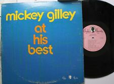 Country Lp Mickey Gilley At His Best On Paula