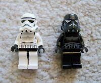 LEGO Star Wars - Rare Original Shadow Trooper & Storm Trooper - Excellent