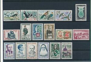 D195765(1) France 1960-1961 Nice selection of MNH stamps