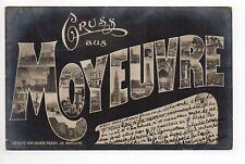 MOYEUVRE GRANDE Gross Moyeuvre Moselle CPA 57 souvenir de ... Gruss aus ...
