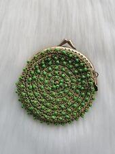 Vintage Crochet Beaded coin purse