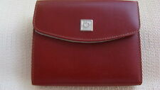 WOMEN' S LEATHER WALLET TABAC - WREATH LOGO - ATHENS 2004 OLYMPIC PRODUCT