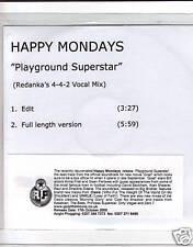 "HAPPY MONDAYS UK PROMO PLAYGROUND SUPERSTAR REDANKA MIX """