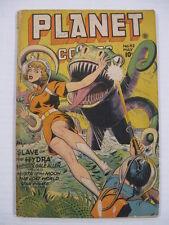 PLANET COMICS #42 VG Art by Anderson, Hopper & Renee. Last Gale Allen.