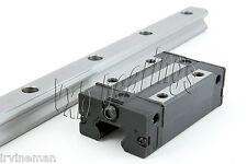 20mm 30 Rail Guideway System Flanged Slide Unit Linear Motion Rail Heavy Duty