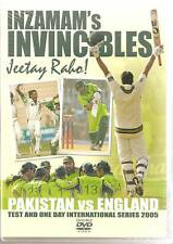 PAKISTAN VS ENGLAND CRICKET 2005 TOUR 2 DVDs INZAMAM'S INVINCIBLES JEETAY RABO