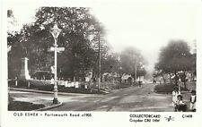 Surrey Postcard - Old Esher - Portsmouth Road c1905  E574