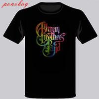 The Allman Brothers Logo Black T-Shirt Size S M L XL 2XL 3XL
