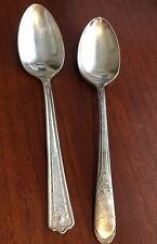 Vintage WM Rogers Rogers & Bros Silver Plated Spoon 2 pieces*