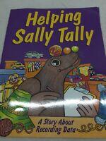 HELPING SALLY TALLY RECORDING DATA MATH   Big Teacher Book Big Book PB Day Care