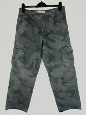 Wrangler Mens Army Camouflage Cargo Pants Combat Trousers Relaxed 32W 29L
