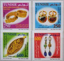 TUNISIA TUNESIEN 2006 1648-51 1396-99 Punic & Roman Era Jewelry Schmuckstücke **