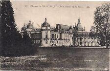 chateau de chantilly  le chateau vu du parc
