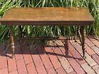 Antique Claw & Ball Foot Piano Bench Table